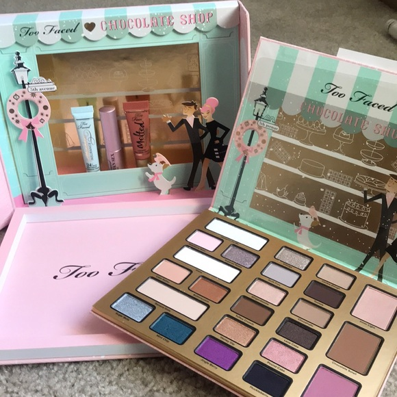 Makeup Too Faced Christmas In New York Palette Set Poshmark